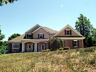 Carmine Built Custom Brick Home Gloucester Virginia Real